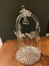 Crystal Hummingbird Wedding Cake Topper