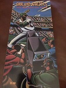 NEW, NEVER OPENED 1988 Oakland A's Media Guide American League Champions MLB