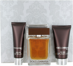 The One By Dolce & Gabbana For Men Set: EDT 3.3 + Shower Gel  +After Shave Balm