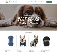 Pet Store Website For Sale - Earn £425.00 A SALE. Free Domain  Web Hosting