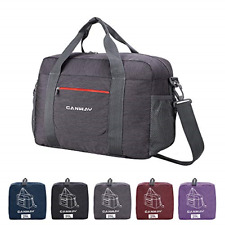 Airlines Foldable Travel Bag Carry on Duffle Lightweight Weekender Overnight