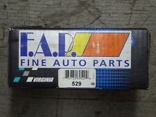 BRAND NEW FDP 529 REAR DRUM BRAKE SHOE SET FITS VEHICLES ON CHART