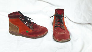 KICKERS Damen Lederschuhe Schuh  Gr. 37 UK 4,5 Legendoknew Stiefelette Boots