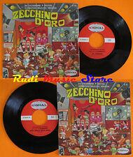 LP 45 7'' ZECCHINO D'ORO coro I SANREMINI Re trombone Nicchi 1969 cd mc dvd vhs