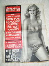 Détective 1972 VAUDELNAY TILLY NIVELLE SCHILTIGHEIM