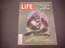 Life Magazine,April 4, 1969,Sex in the lively arts,How Far Is Far Enough?