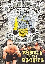 Gladiator Challenge Rumble in the Rockies DVD