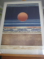 Sunrise 6:15 A.M Limited Edition Lithograph Print, Signed By Artist