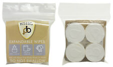 Pits and Bits Expandable Body Face Wipes - Festivals Camping Travelling Hiking
