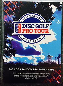 2016 Disc Golf Pro Tour DGPT trading cards - You Pick