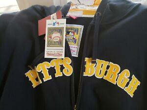 Pittsburgh Pirates Mitchell and Ness Hoodie Sweat Shirt Size 52/2xl