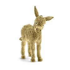 Schleich 72145 Gold Donkey model Golden Donkey figure horse figurine plastic toy
