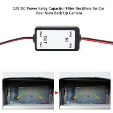 1 PCS Car Rear View Backup Camera 12V DC Power Relay Capacitor Filter Rectifiers
