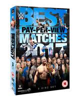 WWE: Best PPV Matches 2017 DVD (2018) Randy Orton cert TBC 3 discs ***NEW***