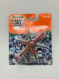 Matchbox 2021 Sky Busters BLADE FORCE Helicopter Red VHTF FREE SHIPPING