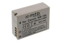 Batería NB-10L NB10L para Canon PowerShot G1X, G15, SX40 HS, SX50 HS