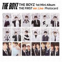 THE BOYZ 1st mini album The First Official Photocard Live Version KPOP K-POP