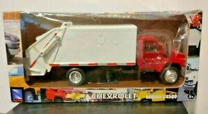 New-Ray Toys Diecast Chevrolet Kodiak C4500 Garbage Truck 1:43 NEW