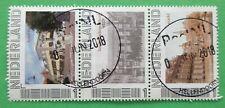 Nederland persoonlijke zegel 11 strook van 3 gestempeld