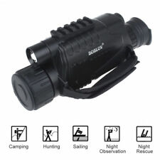 5x Digital Infrared Night Vision Monocular 8GB Video Photo DVR 940nm 5MP Scope