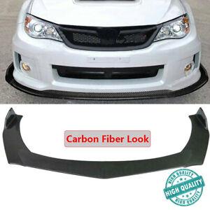 Carbon Fiber For Subaru WRX STI Impreza BRZ Front Bumper Lip Splitter Spoiler