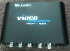 YpbPr, & 5Rca Rgb Component Adapter to Hdmi Converter