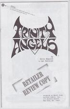 High Grade Comic Trinity Angels Preview Vol 1 #1 Retailer Review ACCLAIM Valiant