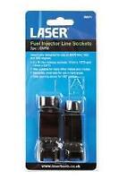 Laser Tools Fuel Injector Line Sockets 2 Pieces - BMW - 6821L