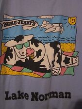NWOT BEN & JERRY'S ICE CREAM LAKE NORMAN Adult 2XL Double-Sided Short Sleeve Tee