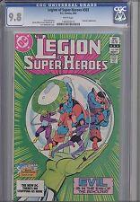 Legion of Super Heroes #303  CGC 9.8 1983 DC Comic: Supergirl App. Cover