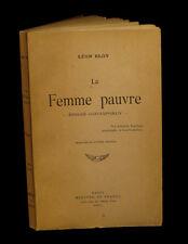 [HUYSMANS] BLOY (Léon) - La Femme pauvre.