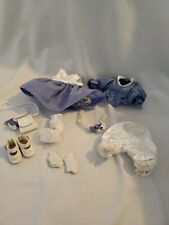 Marie Osmond Doll BLUE AND WHITE OUTFIT Tiny Tot Collecton, 8 pieces,  tagged