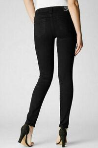 True Religion Halle Black Skinny Jeans 25 X 31
