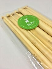 Set of 12Pc Bamboo Crochet Hooks Knitting Needles 3-10mm
