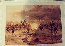 Thure Thulstrup L. Prang & Co Boston 1887 chromolithograph battle of antietam