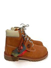 "Timberland Juniors 6"" Waterproof Boot Dark Orange TB0A1OPA Size 5.5Y Youth"