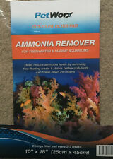 CUT-TO-FIT Filter Pad AMMONIA REMOVER 25cm X 45cm - Fresh & Marine Water Tanks