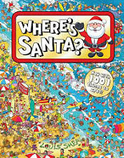 WHERE'S SANTA with 1001 things to spot Louis Shea NEW