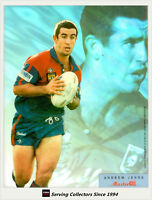 1996 Dynamic Rugby League MASTER CEL PRE-PROOF ACETATE CARD FULL SET (8)-Rare!