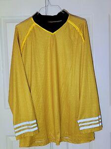 Star Trek Custom Captain Kirk Long sleeve Shirt 3-XL