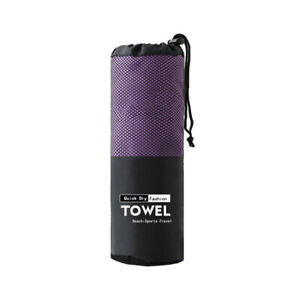Microfiber Towel Sports Bath Gym Quick Drying Travel Swimming Camping Be WN