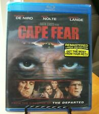 Cape Fear (Blu-ray Disc, 2011) Robert De Niro, Nick Nolte, Jessica Lange  New