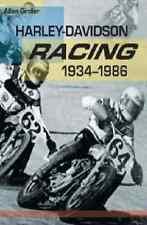 Harley-Davidson Racing 1934-1986 Book~XLR CR CRS CRTT KRTT XR Motorcycle~NEW!