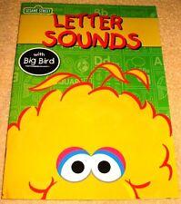Letter Sounds Workbook Preschool (2016) New Sesame Street Homeschool Daycare