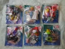 Set of 6 Jack in the Box 1996 Disney DOUG Kids Meal Toys COMPLETE