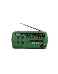 Tecsun DE13 Emergency AM/FM/SW Solar Powered Radio and Dynamo Hand Crack Charger