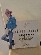 "1987 original Dwight Yoakam stand up poster ""Hillbilly"" 9"" x 8.25"""