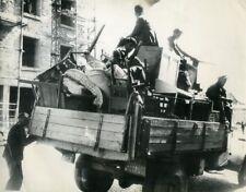 France Brest Harbour Catastrophe Disaster Explosion Port Old Photo 1947