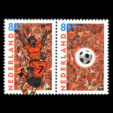 Netherlands 2000 - European Football Championship Soccer Sports - Sc 1045/6 MNH