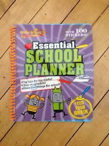 Gold Stars Essential School Planner with 100 stickers